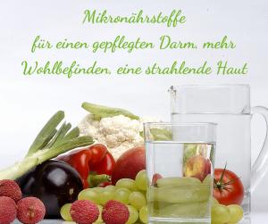 gepflegter Darm, Mikronährstoffe